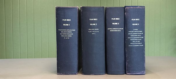'Blue Books' go digital: Plan Cross-Reference Index now available online